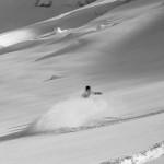 Powder field in Pitztal Austria