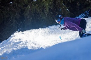 Banked Slalom in Flaine