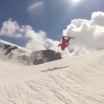 Backflip in Cervinia/Zermatt