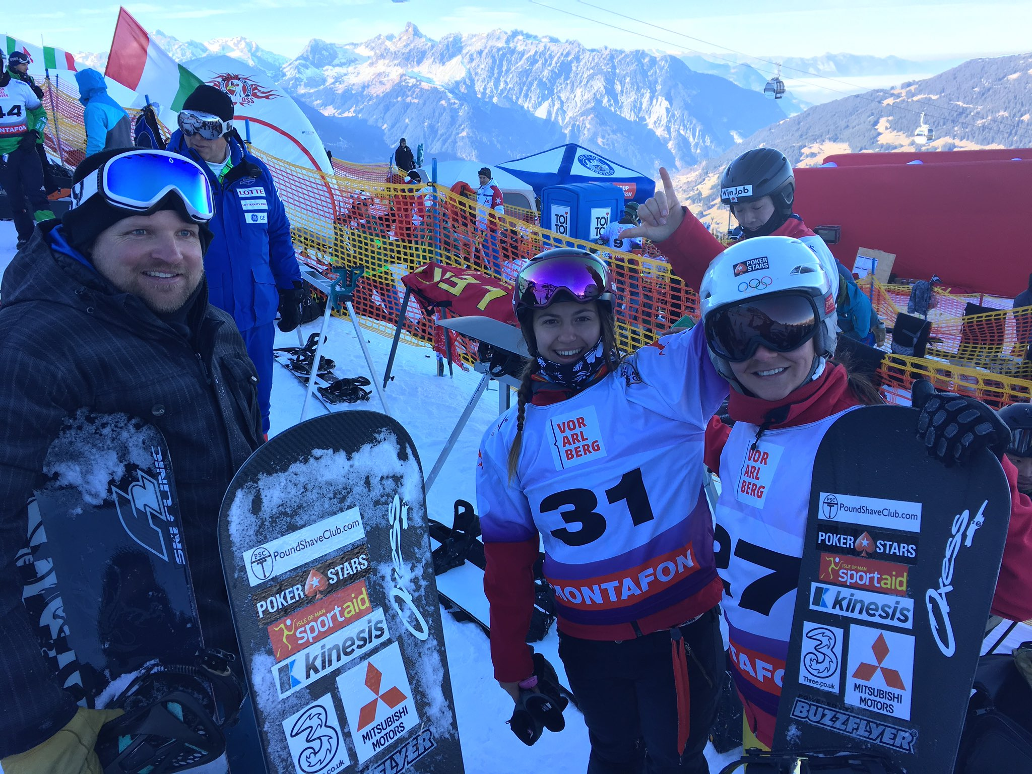 First World Cup - Montafon Dec 2016