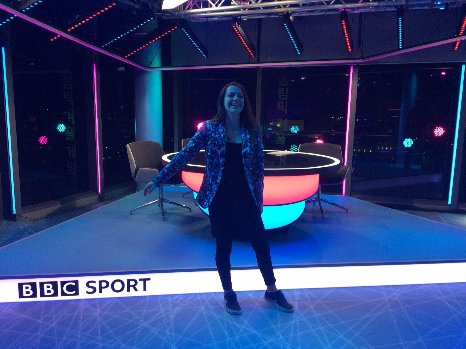 Pyeongchang olympic analysis on the BBC